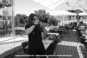 Juni 2016 Fotoshooting Graz Schlossberg: Fotograf Dieter Biernat.